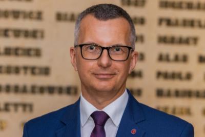 Na zdjęciu prof. dr hab. Marcin Gruchała, rektor GUMed