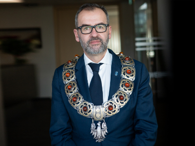 Na zdjęciu prof. dr hab. Piotr Stepnowski, rektor UG