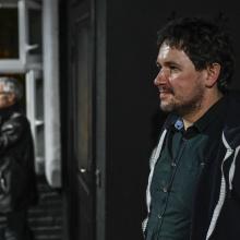 Od lewej prof. David Malcolm iprof. Tomasz Wiśniewski Fot. Sopografia/ Jerzy Bartkowski