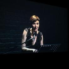 Sylwia Góra. Premiera nagrania BOTO czyta Sybilla Fot. Sopografia/ Jerzy Bartkowski