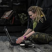 Transmisja zakończenia Festiwalu. Dr Katarzyna Kręglewska Fot. Sopografia/ Jerzy Bartkowski