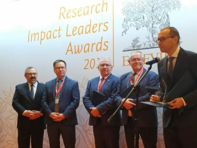 ELSEVIER Research Impact Leaders Award 2019