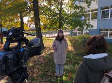 Reportaż o Kaszubach. Włoska ekipa telewizyjna na UG