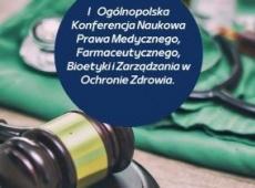 Prawo i medycyna. Konferencja naukowa na UG