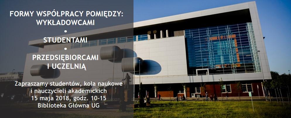 Baner Forum Akademickie Biblioteka Główna UG