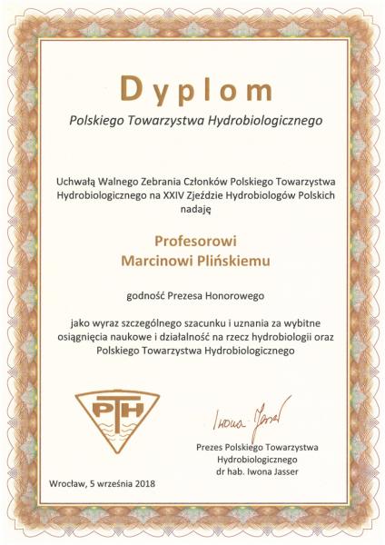Pliński dyplom