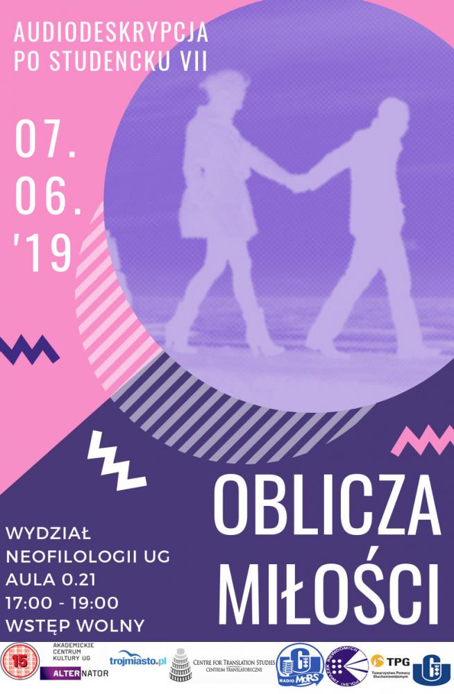 Plakat Oblicza miłości