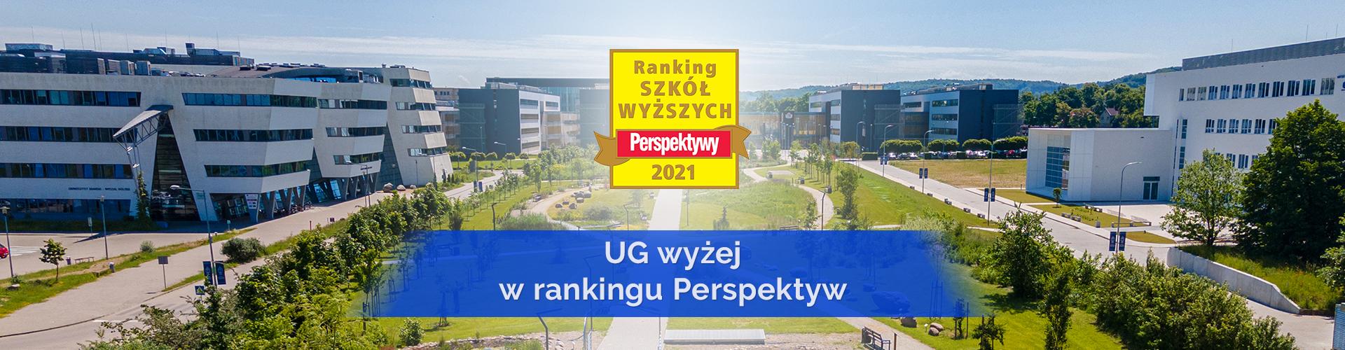 5 miejsc w górę – UG wyżej w rankingu Perspektyw!