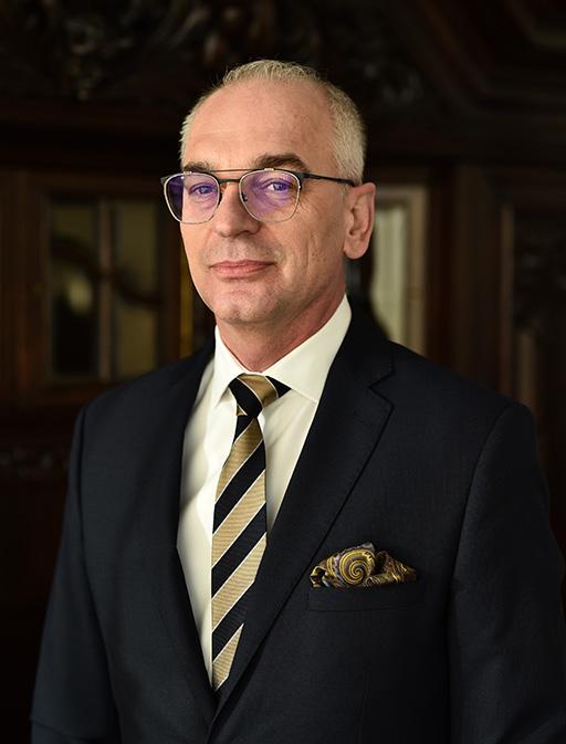 Prorektor ds. Studentów iJakości Kształcenia - dr hab. Arnold Kłonczyński