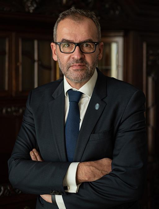 Rektor UnIwersytetu Gdańskiego - prof. dr hab. Piotr Stepnowski