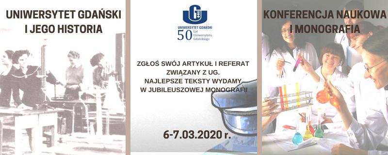 konferencja 50. lat UG