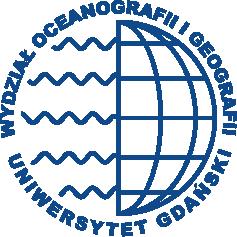Logo Wydziału Oceanografii iGeografii