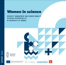 Okładka raportu Women in science