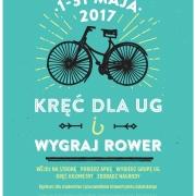 Plakat konkursu Kręć dla UG