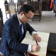 Wizyta rektora CYU 7