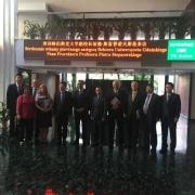Wizyta delegacji UG w Chinach 3962