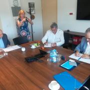 Podpisanie umowy UG, TechTransBalt oraz Polskiego Związku Zrzeszeń Hodowców i Producentów Drobiu 2