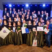 Akademicki Chór Uniwersytetu Gdańskiego - Daugavpils na Łotwie