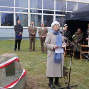 Galeria zdjęć z uroczystości posadzenia dębu pamięci kpt. Józefa Książka