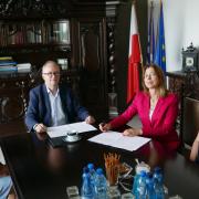 Podpisanie porozumienia o współpracy pomiędzy Uniwersytetem Gdańskim a Fundacją Uniwersytet Dzieci