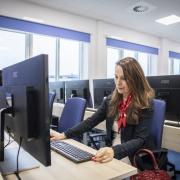 Otwarcie Instytutu Informatyki - zwiedzanie