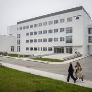 Otwarcie Instytutu Informatyki - budynek z zewnątrz