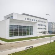 Otwarcie Instytutu Informatyki - budynek Instytutu z zewnątrz
