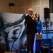 Festiwal otworzył Prorektor ds. Studenckich i Kształcenia dr hab. Arnold Kłonczyński prof. nadzw., fot. Szymon Cieślak