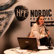 Ewa Chudecka z Centrum Designu Gdynia, fot. Szymon Cieślak
