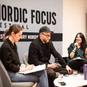 Spotkania i dyskusje z gośćmi z krajów skandynawskich, fot. Szymon Cieślak
