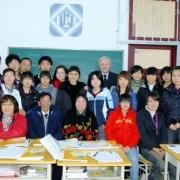 Otwarcie polonistyki na Uniwersytecie w Harbinie z udziałem prof. Yi Lijun oraz prof. Józefa A. Włodarskiego, Prorektora ds. Stu