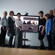 Uczestnicy sesji on-line Gdańsk - Moskwa