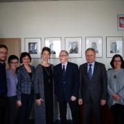 Goście z Ukrainy wraz z gospodarzami z UG