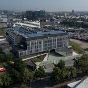 Instytut Biotechnologii UG, ujęcie z góry