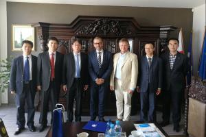 Delegacja z Chin z Nanyang Normal University