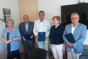 Podpisanie umowy UG, TechTransBalt oraz Polskiego Związku Zrzeszeń Hodowców i Producentów Drobiu