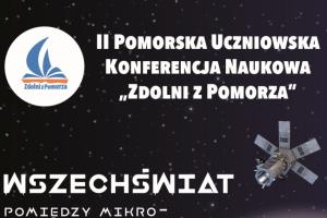 "Plakat konferencji ""Zdolni z Pomorza"""