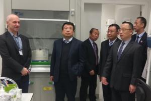 delegacja z Xidian University w Chinach
