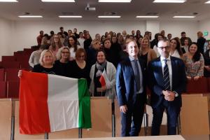 Delegacja z Włoch