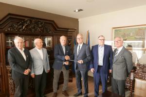 """podpisanie umowy z Gdyńskim Związkiem Pracodawców """"NORD"""""""