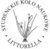 """Logo Studenckiego Koła Naukowego Ekologów Roślin """"Littorella"""""""