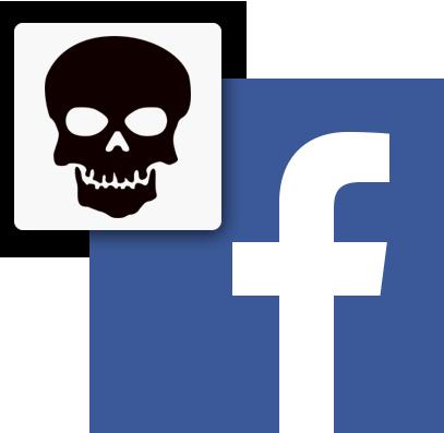 Facebook skull